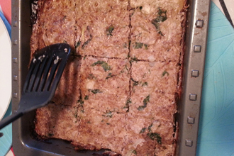 FEATURE chicken meatloaf