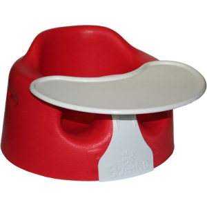 kitchen ready for baby - bumbo chair with tray