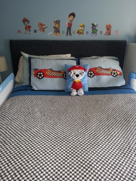 PAW PAtrol bedroom DIY