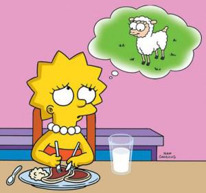 vegetarian child