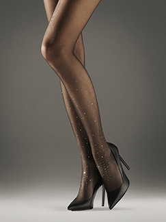 Cara Tights with a sparkle