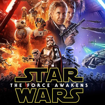 episode VII star wars the force awakens poster