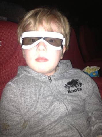 First Order Trooper 3-D glasses