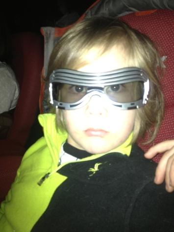 Kylo Ren 3-D glasses
