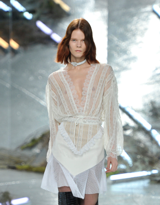 Slip dress-lingerie inspired Rodarte