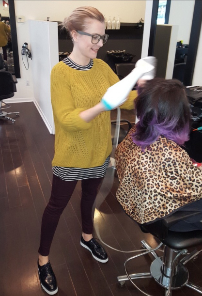 dying hair pregnancy hair
