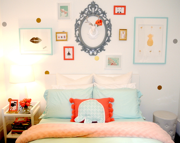 Izzies Room - Gallery Wall 2