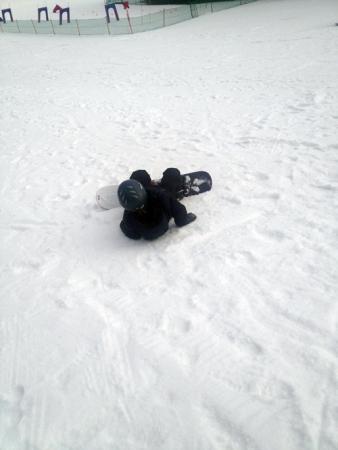 sullivan falling snowboard