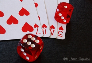 valentines - roll the dice on love