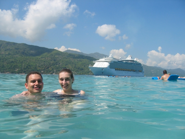 cruise ship swim