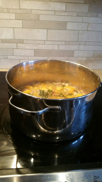 GoodFood simmering on the stove