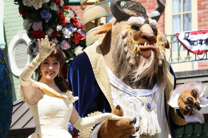festival of fantasy - beauty and the beast