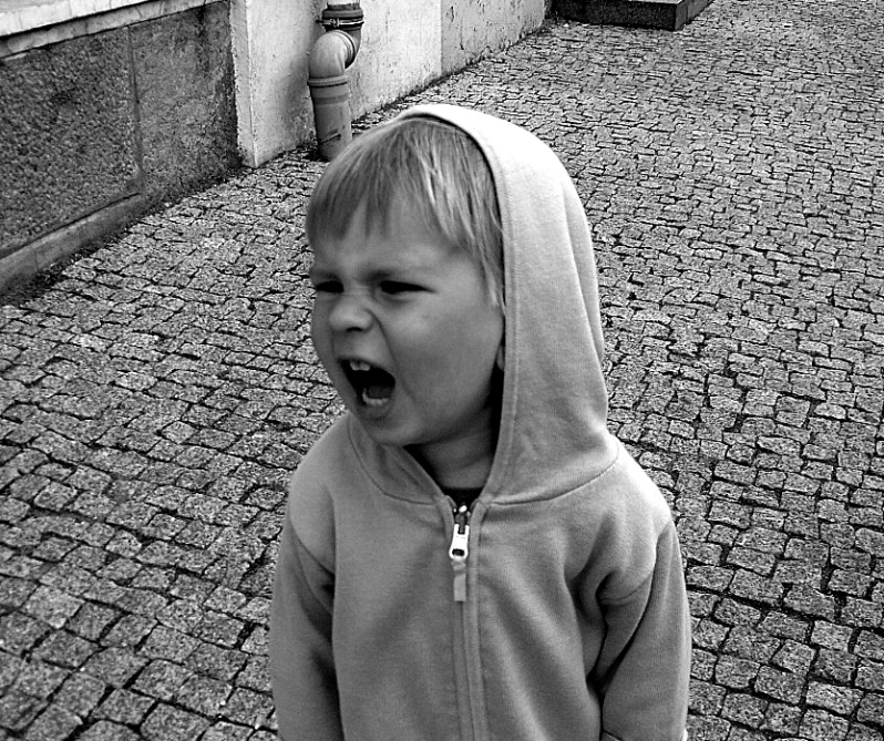 screaming kid