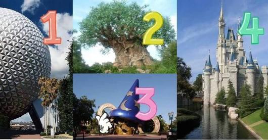the 4 parks - disney