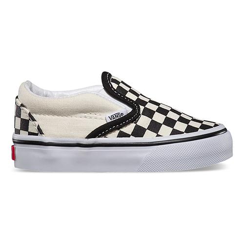 Van's Checkerboard Slip-ons
