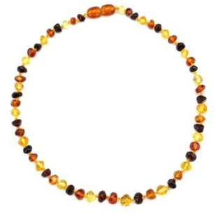 Baltic Amber Teething Necklace $24