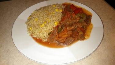 Estofado De Carne – plated