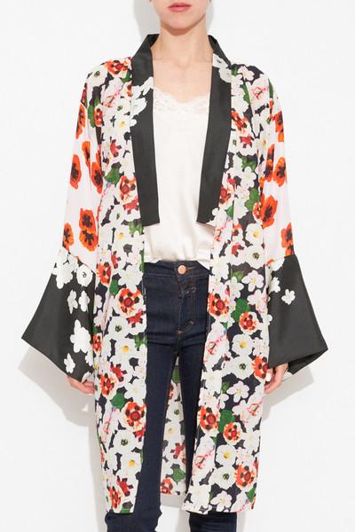 Printed Kimono Court by Cher Michel Klein