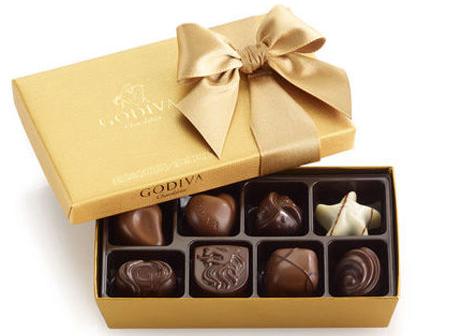 Godiva Chocolates $15