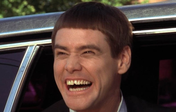 Lloyd Christmas, Dumb and Dumber (played by Jim Carrey)