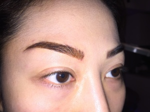 Eyebrows - After