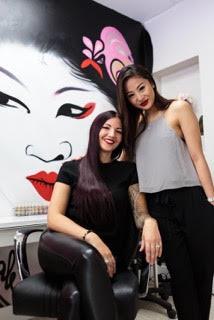 Amber (L) & Anna (Right)