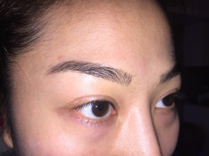 Eyebrows - Before