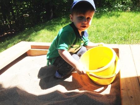 two year milestones - sand box